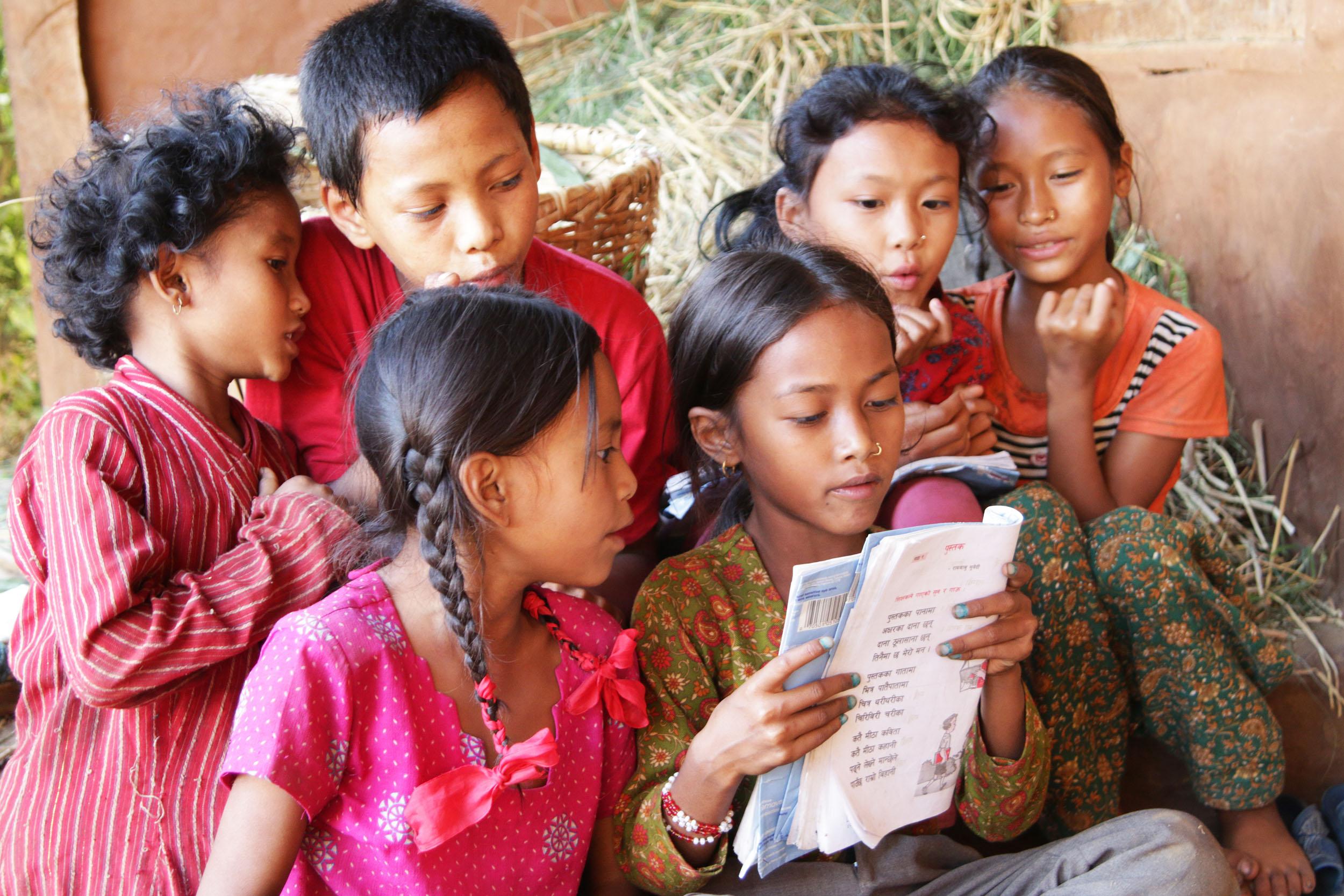 lukevat lapset