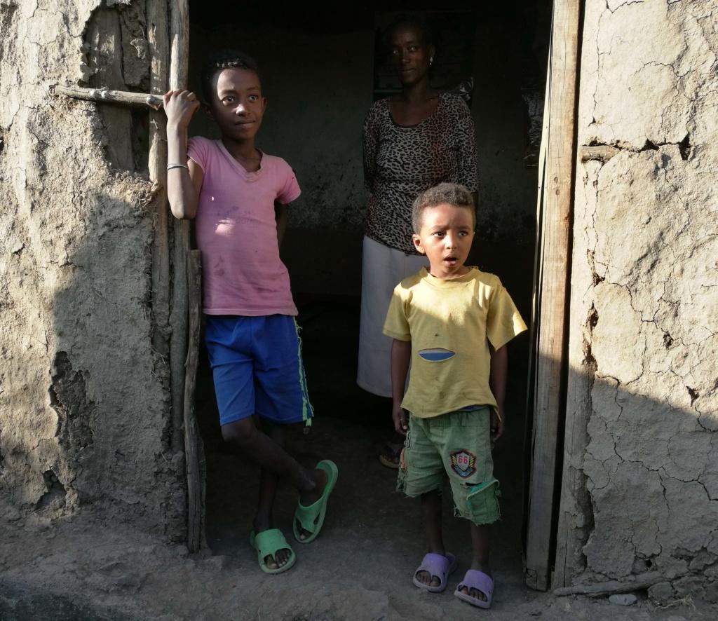 Etiopia kummilapsi